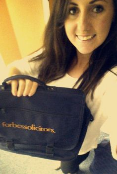 """I love working at Forbes Solicitors because of the friendly atmosphere and they push you to better yourself and progress."" Catherine Bibby, 25"