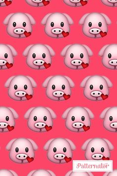 piggy emoji wallpaper