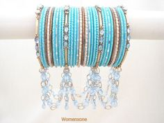 Beautiful jhumka bangles accessorize for Eid 2011 « Islamic News ...