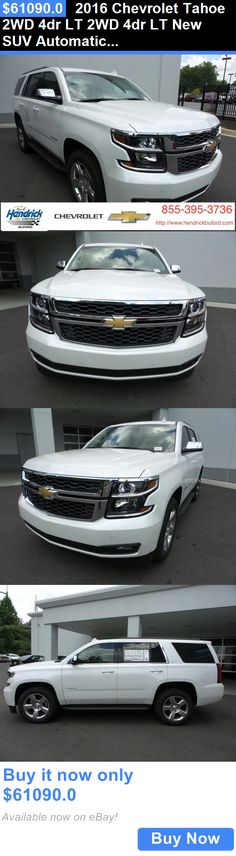 SUVs: 2016 Chevrolet Tahoe 2Wd 4Dr Lt 2Wd 4Dr Lt New Suv Automatic Iridescent Pearl Tricoat BUY IT NOW ONLY: $61090.0