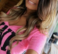 Great hair Style Ideas for Summer :) I love the colors and style in this pic!