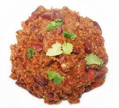 Chili con carne à mijoter quelques heures - La cuisine de Bernard