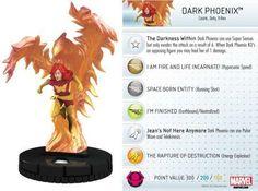 Dark Phoenix #021 Marvel 10th Anniversary Heroclix Singles