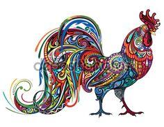 Descargar - Animal de granja de pollo — Ilustración de Stock #107241172