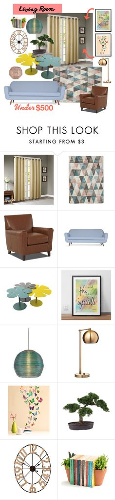 """Old Soul"" by rebeccalange ❤ liked on Polyvore featuring interior, interiors, interior design, home, home decor, interior decorating, Madison Park, Disney, ELK Lighting and Threshold"