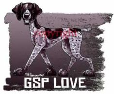 German Shorthaired Pointer Love Dog