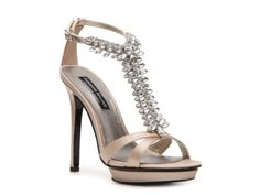 Adrienne Maloof Ivy Sandal in gold possibly, check color in person though