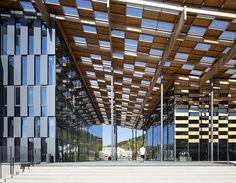 Kengo Kuma & Associates, Michel Denancé · Besançon Art Center and Cité de la Musique · Divisare