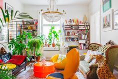 Casinha colorida: Home Tour: setentinha
