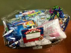 We love supporting our local institutions that do good work. Here's the basket full of goodies we donated for the Schneider Elementary PTO Fun Fair 2014. #northaurorasmiles