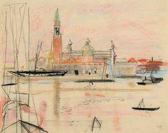 Max Gubler (1898 1973) Venedig