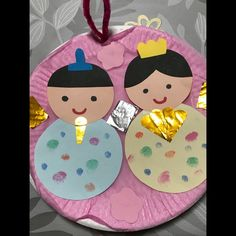 Student In Japanese, Crafts For Kids, Arts And Crafts, Girl Day, Spring Crafts, Paper Plates, Art Projects, Coasters, Kindergarten