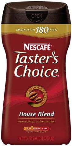 NESCAFE Taster's Choice House Blend 12oz. Case of 9 *** Be sure to check out this awesome product.