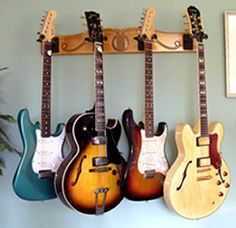 replace hooks on coat hook with guitar hooks