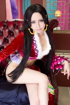 Boa Hancock cosplay from OnePiece - anime