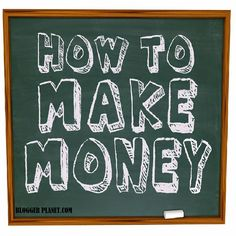 30+ Ways to Make Money by Blogging or with Website  Read more: http://www.bloggerplanet.com/2014/10/ways-to-make-money-online-with-website-or-blog.html
