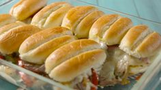 Philly Cheesesteak Pull-Apart Sliders  - Delish.com