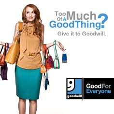 Did you get too much of a good thing over the holidays? Need to make room for all the new gifts you received?    Goodwill Southern California loves what you don't! Donate the gifts you don't need or want and help individuals with disabilities secure sustainable employment. Donate. Shop. Empower.