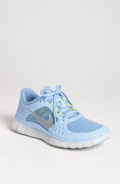 Nike 'Free Run 3' Running Shoe (Women) | Nordstrom. I thought I wanted grey, but I'm kind of in love with these!