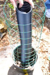 """DIY Flower Tower Look what this guy made for his wife for Mother's Day! """"This will be a colorful addition to the patio!"""" We made these self watering flower towers for the Moms in our family for Mother's Day. It incorporated two ideas we had seen online. Diy Garden, Garden Projects, Garden Art, Garden Crafts, Garden Planters, China Garden, Garden Stools, Succulent Planters, Garden Sheds"""