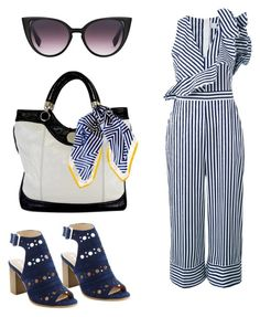 """""""Navy"""" by oespinal on Polyvore featuring moda, MSGM, Jill Stuart y Black"""