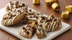 Here's a must-try cookie treat! Cookie on the outside, caramel candy on the inside, and absolutely irresistible!