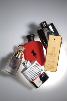 Men's Scents: Montblanc Legend Intense; Paco Rabanne 1 Million Intense; Prada Luna Rossa 34th America's Cup; Gucci Made to Measure Pour Homme; Ralph Lauren Polo Red.
