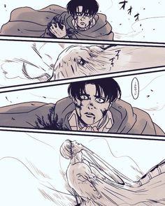Eruri = if only this was real<<Why isn't it real? Attack On Titan Ships, Attack On Titan Fanart, Levi And Erwin, Human Figure Drawing, Eruri, Levi Ackerman, Manga Games, Armin, Anime Comics