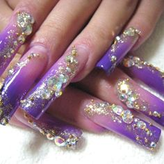 Ok so those are kinda long hahaツ but blingy n pretty summer gel nail