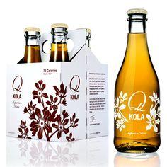 Q Kola is flavored with cinnamon, nutmeg, cloves, kola nut and sweetened with organic agave nectar.