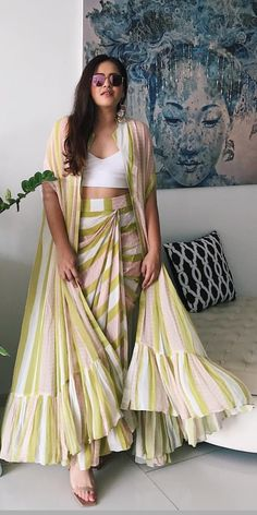 Glam Outfit Ideas for Indian Bridesmaids for every Ceremony Indian Fashion Trends, Indian Designer Outfits, Designer Dresses, Indian Designers, Indian Bridesmaids, Bridesmaid Outfit, Indian Gowns, Indian Attire, Indian Wedding Outfits