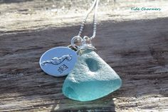 A personal favorite from my Etsy shop https://www.etsy.com/listing/236492677/teal-seahorse-sea-glass-necklace-in