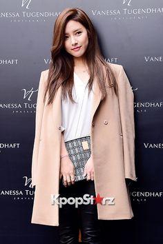Kim So Eun at Vanessa Tugendhaft Korea Launching Event