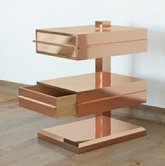 Fabbro Candeago - copper drawers