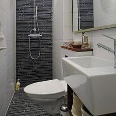 Salle de bains on pinterest deco murals and hex tile - Deco douche tegel ...