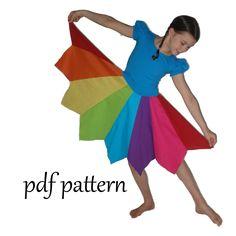 Pippi Pixie Dress and Skirt in girls sizes clothes style summer clothes summer clothes outfits