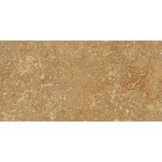 3 X 6 Honed Noce Travertine Tile