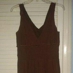 Brown dress Stretchy material Rafaella Dresses