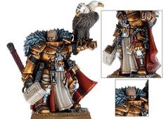 Inquisitor Coteaz - a lavishly detailed model, and miniature painter's dream.