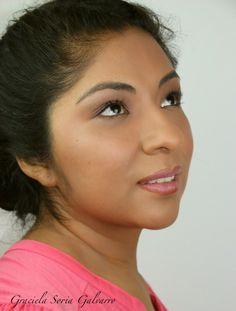 Maquillaje Natural para piel morenas en 20 minutos ******Natürliches Make-up für dunkle Haut  in 20 Minute .. Make Up, Brown Skin, Makeup, Beauty Makeup, Bronzer Makeup