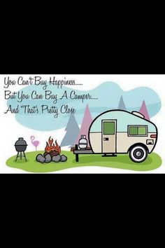 Camping With Cabins Near Me Retro Campers, Camper Trailers, Happy Campers, Vintage Campers, Vintage Motorhome, Small Campers, Rv Trailer, Bus Camper, Travel Trailers
