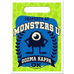Monsters university treat bags