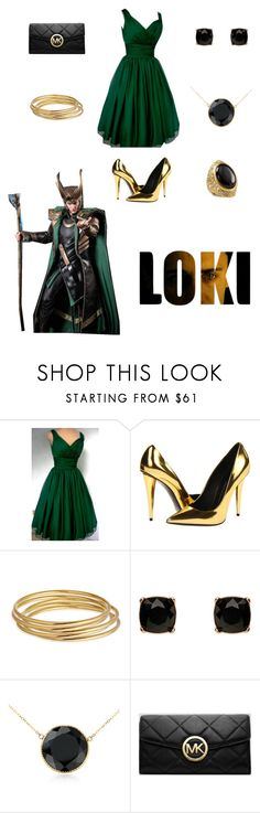 """Loki - Formal Wear"" by anth0ny-stark ❤ liked on Polyvore featuring Forum, Giuseppe Zanotti, Astley Clarke, Mimco, Blue Nile, MICHAEL Michael Kors, ABS by Allen Schwartz and loki"
