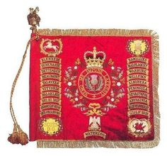 The Standard of the Royal Scots Dragoon Guards circa. 1994