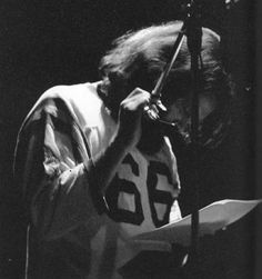 Jim Morrison taking part in a poetry reading on December 8, 1970. His final birthday. #jimmorrison #jimmorrisonpoetry #thedoors