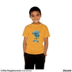 Henry Hugglemonster - Tu Playera básica ComfortSoft® de Hanes sin etiqueta para niños personalizada. Producto disponible en tienda Zazzle. Vestuario, moda. Product available in Zazzle store. Fashion wardrobe. Regalos, Gifts. #camiseta #tshirt