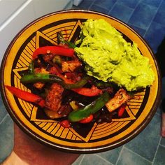 Tag a friend who's needs this Mexican style tofu dish with guacamole in their life. Tofu Dishes, Mexican Style, Guacamole, Plant Based, Ethnic Recipes, Instagram Posts, Life, Food, Meals