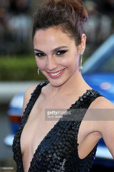 Actress Gal Gadot attends the World Premiere of 'Fast & Furious 6' at Empire Leicester Square on May 7, 2013 in London, England.