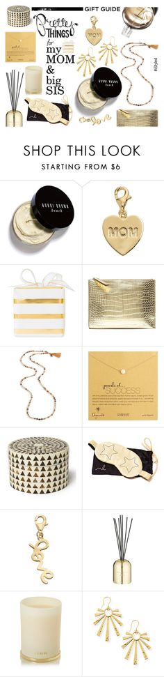 Gift Guide: my Mom & Big Sis by istyled on Polyvore featuring Banana Republic, Chan Luu, NEST Jewelry, Dogeared, TFS Jewelry, Bobbi Brown Cosmetics, AERIN, Tom Dixon, Morgan Lane and Sugar Paper