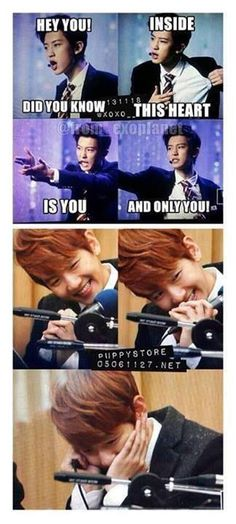 Wow Chanyeol you know how to get Baekhyun into your heart...... Baekhyun is so cute!